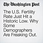The U.S. Fertility Rate Just Hit a Historic Low. Why Some Demographers Are Freaking Out. | Ariana Eunjung Cha
