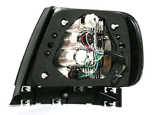 Vetro Trasparente Nero KG 960122 Kit luci Posteriori a LED AD Tuning GmbH /& Co