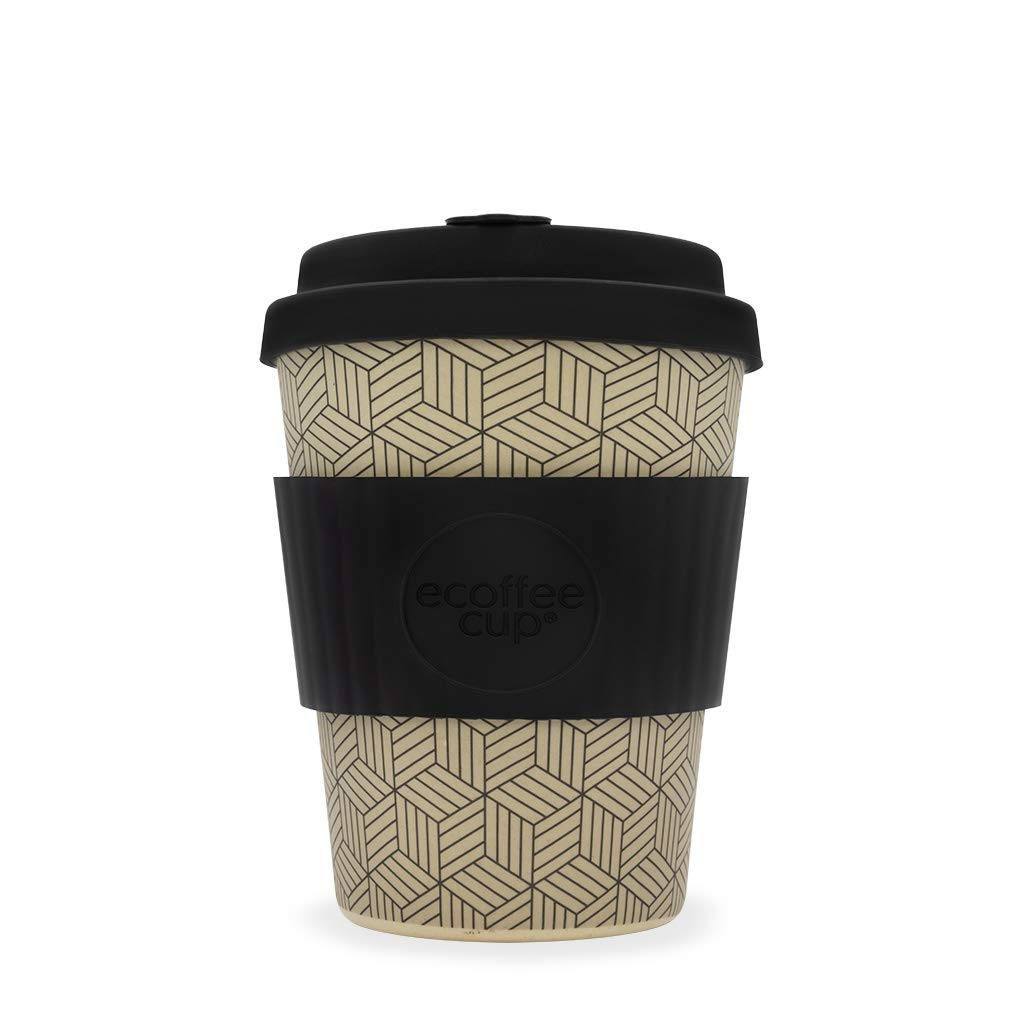 Ecoffee William Morris Taza de caf/é Reutilizable 250 ml, ecol/ógica, Fabricada con Fibra de bamb/ú Natural