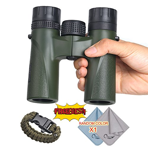 COSTIN 12 X 27 Pocket Size Stabilized Binocular for Bird Watching, Watching Wildlife or Scenery, Game, Mini Compact and Image Stabilized - Forest - Ideal Optics Frames Eyeglass
