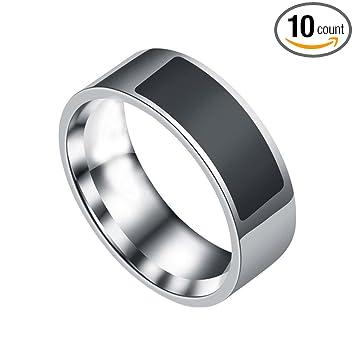 Amazoncom NFC Smart Wear Finger Digital Ring Tiean