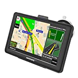 Car GPS Navigation System AWESAFE 7 inches Capacitive Touch Screen Navigation System for Cars Lifetime Updates North America Map