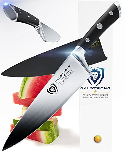 "DALSTRONG Chef Knife - Gladiator Series - German HC Steel - 8"" (200mm)"