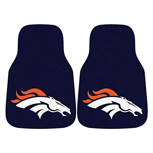 - FANMATS NFL Denver Broncos Nylon Face Carpet Car Mat