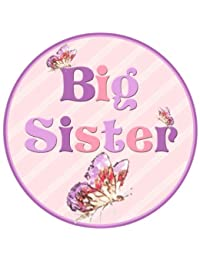 Mumsy Goose Big Sister Birth Announcement Sticker BOBEBE Online Baby Store From New York to Miami and Los Angeles