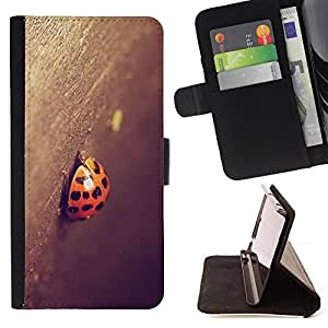 Jordan Colourful Shop - Ladybug For Apple Iphone 5C - Leather Case Absorci???¡¯???€????€????????????&rsq