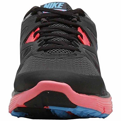 Nike Signora Lunarglide + 3 Scarpe Da Corsa Rosso Nero