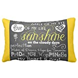 Zazzle My Children Love and Inspiration Pillow 13'' x 21''