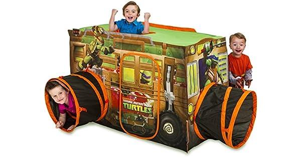 Amazon.com: Cabaña de juegos de las Tortugas Ninja ...