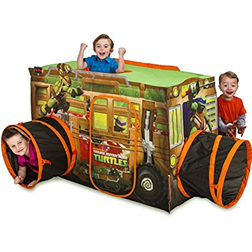 Playhut Teenage Mutant Ninja Turtle Shell Raiser Vehicle  sc 1 st  Amazon.com & Playhut Mega Fun Play Tent: Amazon.com
