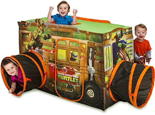 Playhut Teenage Mutant Ninja Turtle Shell Raiser Vehicle]()