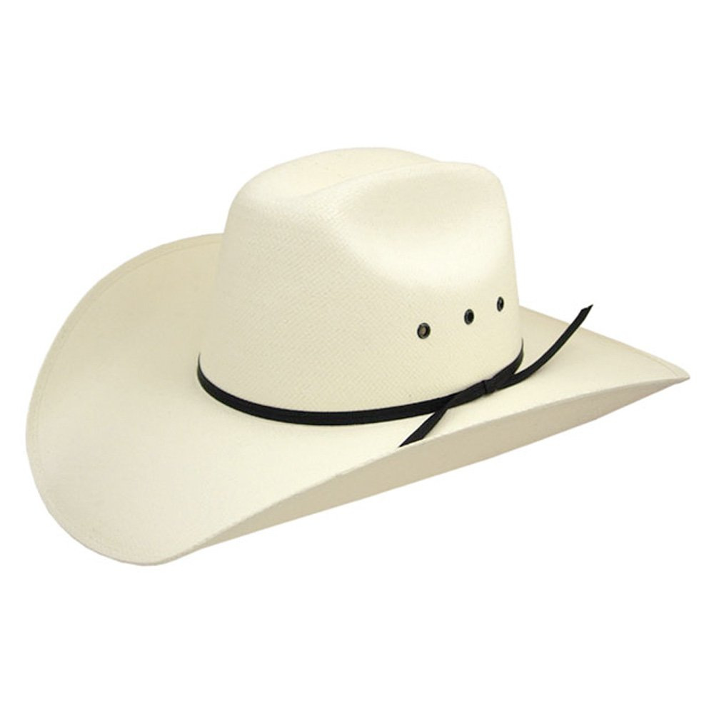 f7eb8218b2217 Amazon.com  Stetson Short Go Jr - Childrens Straw Cowboy Hat  Kids Stetson  Cowboy Hat  Clothing