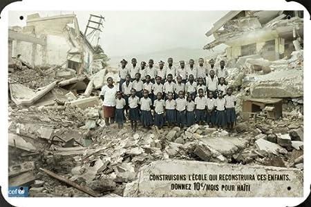 Unicef Haiti Wallpaper 2560X1440 Tin Sign Plate Metal Poster 8quot
