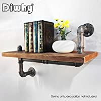Diwhy 24 Industrial shelf design 1X6 WOOD