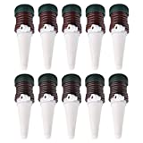UMFun 10Pcs Indoor Plants Automatic Drip Irrigation Watering System Flower Pot Waterer Tool (10 Pcs)