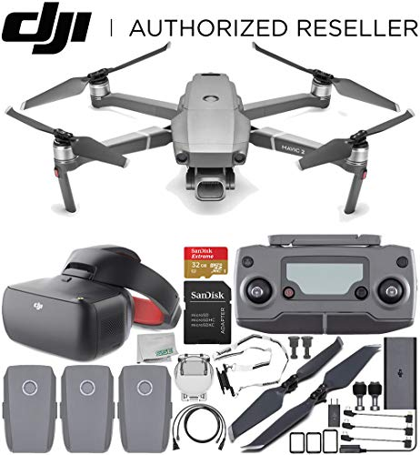 "DJI Mavic 2 Pro Drone Quadcopter with Hasselblad Camera 1"" CMOS Sensor with DJI Goggles Racing Edition Ultimate"