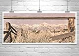 Owens Valley, Large Art, Desert Mountain Panorama, Mount Whitney, Sierra Photograph,