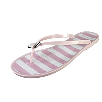 a5bfea82b3f Coach Landon Jelly Sandal in Pink White Pink A6161 (9 M)