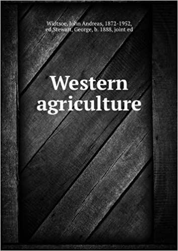 Téléchargement gratuit de livres pdf Western agriculture (1918) PDF FB2 iBook B0061MKNBC