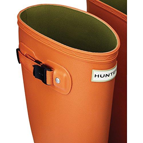 Hunter Original Huntress Mujeres Wellies Liquen De Naranja
