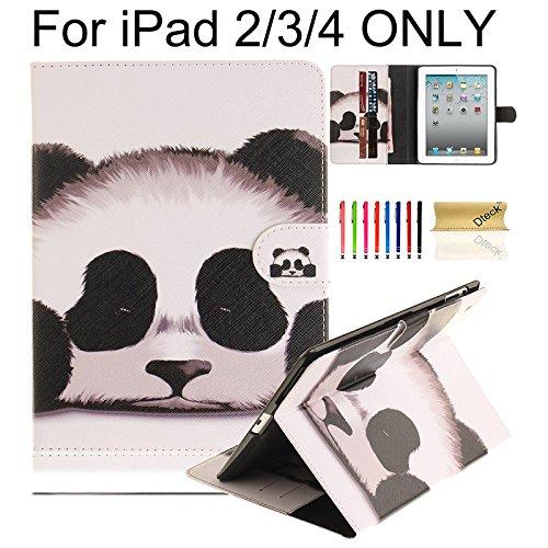 iPad 2 Case, iPad 3 Case, iPad 4 Case, Dteck Stylish New Pri