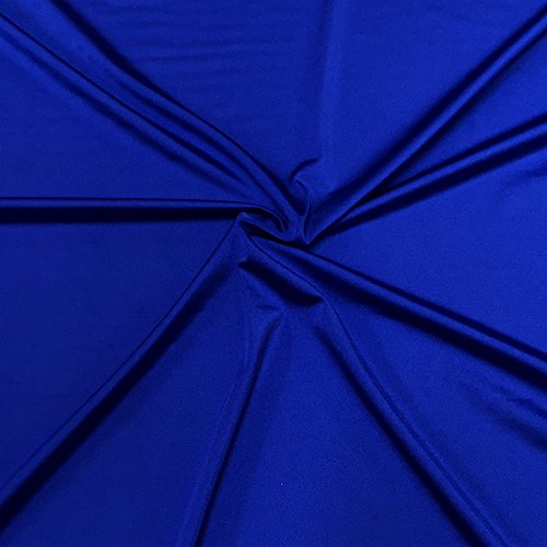 Lycra Shiny Milliskin Nylon Spandex Fabric 4 Way Stretch 58