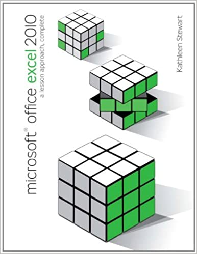 Microsoft Office Excel 2010 Ebook