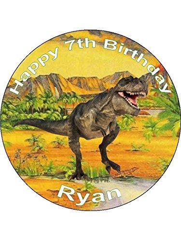 Novelty Personalised Dinosaur T-Rex 7.5