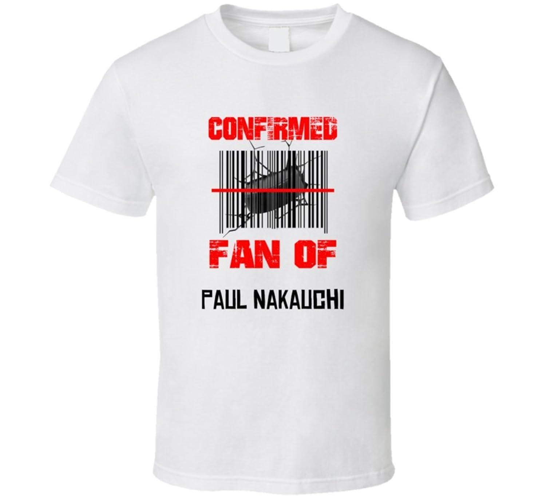 Paul Nakauchi NHL Scanned Barcode Fan T shirt 2XL White