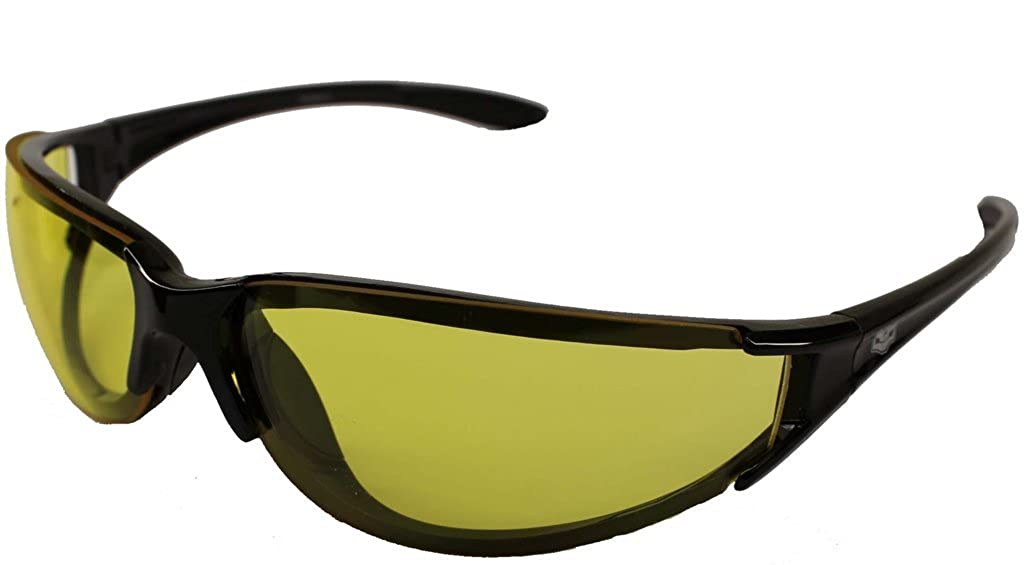 Chopper Wrap Yellow Lens Sunglasses