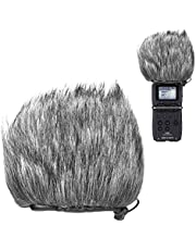 YOUSHARES Furry Outdoor Windscreen Muff, Pop Filter/Wind Cover Shield for Zoom H5, H6 Portable Recorder