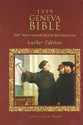 Price comparison product image 1599 Geneva Bible: Luther Edition