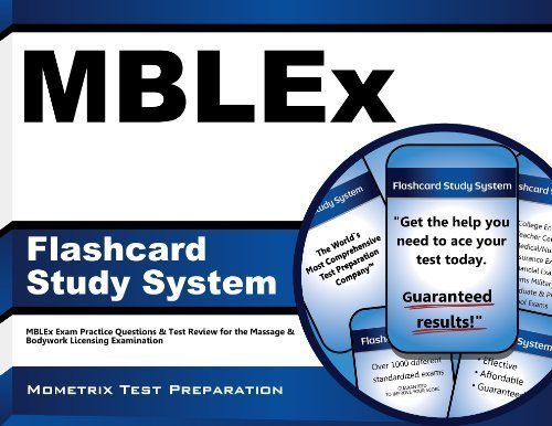 MBLEx Flashcard Study System: MBLEx Exam Practice Questions & Test Review for the Massage & Bodywork Licensing Examination (Cards) by MBLEx Exam Secrets Test Prep Team (2013-02-14)
