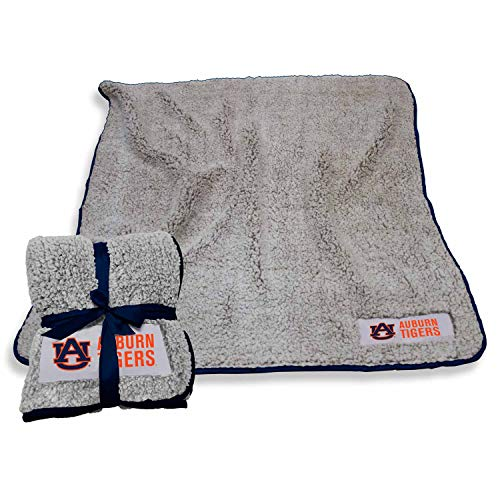 Logo Auburn Tigers NCAA Frosty Fleece 60 X 50 Blanket - Team Color]()