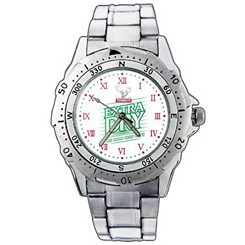 mens-wristwatches-pe01-1287-tooheys-extra-dry-beer-logo-stainless-steel-wrist-watch