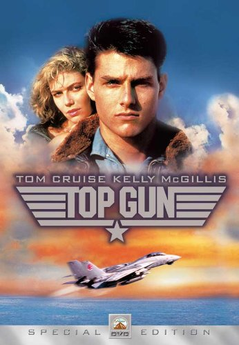 (27x40) Top Gun - Tom Cruise Kelly McGillis Special Edition Movie Poster