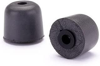 product image for Westone True-Fit Foam Eartips for Monitors & Earphones 100 Pair Black 62812