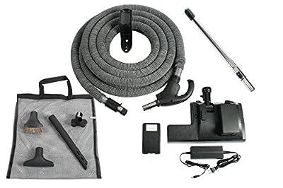 Centec Systems Cen-Tec Systems Battery Powerhead Central Vacuum Kit, Black
