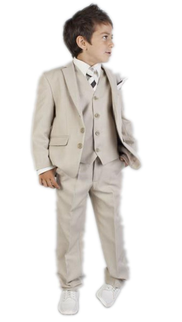 MLT Boy's 3 Pieces Party Prom Wedding Suit Set (XL) by MLT