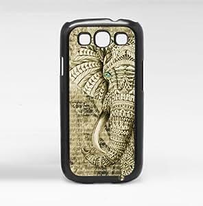 Wise Elephant Hard Snap on Case (Galaxy S3 III)