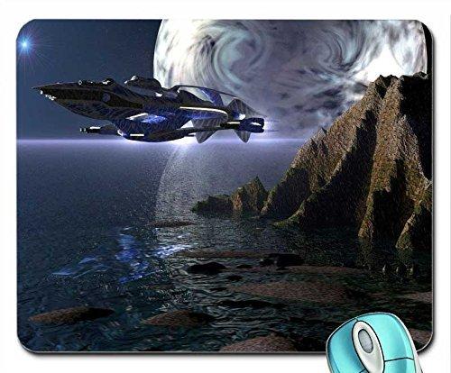Entertainment Babylon 5 sci-fi Babylon 5 - White Star mouse pad computer mousepad