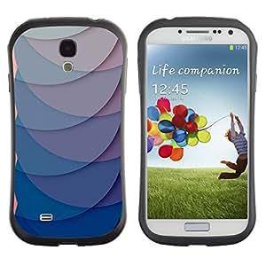 Suave TPU GEL Carcasa Funda Silicona Blando Estuche Caso de protección (para) Samsung Galaxy S4 I9500 / CECELL Phone case / / Paper Scale Pattern Green Clean /