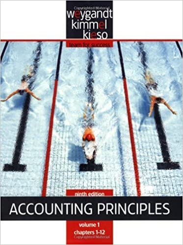 Book Paperback Volume 1 of Accounting Principles, Chapters 1-12 by Weygandt, Jerry J., Kieso, Donald E., Kimmel, Paul D. [Wiley,2008] 9th Edition