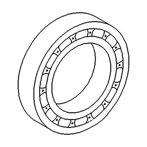 Pilot Bearing Pinion - 81T4625MA2 New Tractor Differential Pinion Pilot Bearing Made to fit Ford NAA +