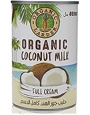 Organic Larder Coconut Milk Full Cream, 400 ml