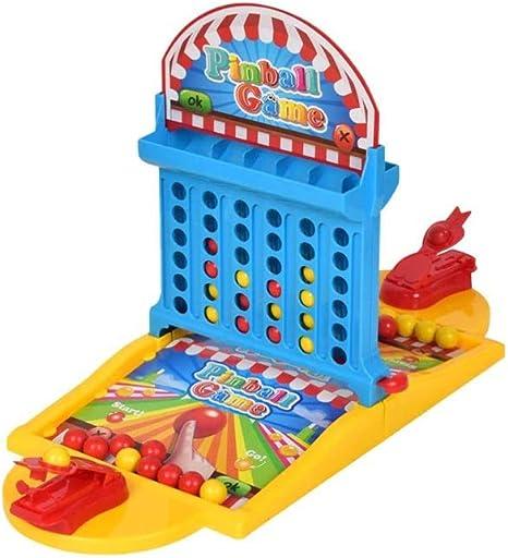 SYXX De los niños juguetes educativos, juegos de mesa de baloncesto de los niños, pinball lanzador del juego, entre padres e hijos interactivo Pinball juego, juegos de interior mesa de oficina, Ejerci: