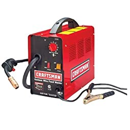 Craftsman 20568N 85 Amp 120 Volt Gasless Wire Feed MIG Welder