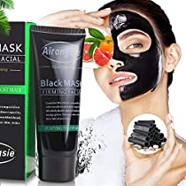 BESTOPE Black Mask,Blackhead Remover Mask with Activated Charcoal Deep Pore Cleansing Black Facial Mask for Face Nose and Acne Treatment Oil Control