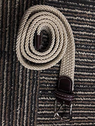 PEDTAIN Canvas Belts Women Woven Elastic Stretch Fabric Belt by PEDTAIN (Image #2)