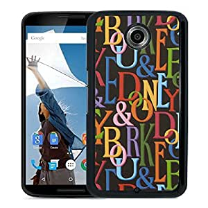 Dooney Bourke DB 02 Black Google Nexus 6 Screen Phone Case Unique and Fashion Design